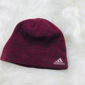 Adidas Logo Climawarm Beanie Running Athletic Hat